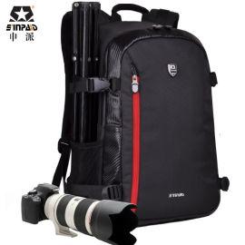 申派批发双肩摄影背包职业相机包防水面料摄影包单反相机包分销