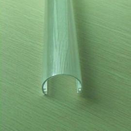 PC透明灯罩挤出成型 pc挤塑弧形灯罩加工定制