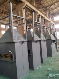锅炉钢制水膜脱硫除尘器