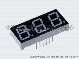 0.52寸led数码管 三位动态 共阴共阳 SMA5231AH BH R S