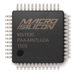 MS1830 单芯片RGB视频/视频转换器芯片 13714730175