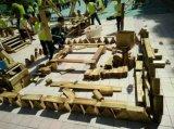 大型户外积木玩具 幼儿园实木桌椅 攀爬架