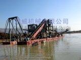 山東優秀大型鏈鬥式挖沙船生產定做廠家選東威