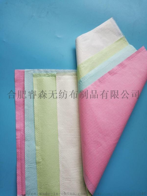 一次性无纺布压合枕套床单SPP纺粘纸膜复合材料