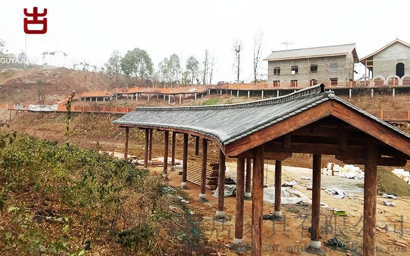 重庆廊架厂家,防腐木长廊景观长廊定制安装