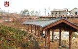 重慶廊架廠家,防腐木長廊景觀長廊定製安裝