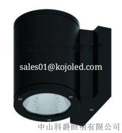 4寸15W20W单双头IP65LED户外花园壁灯
