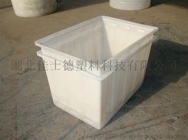 PE塑料方箱推布箱武汉市厂家定制盖板及轮子