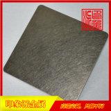 304棕金乱纹不锈钢板厂家直销,酒店装饰不锈钢板