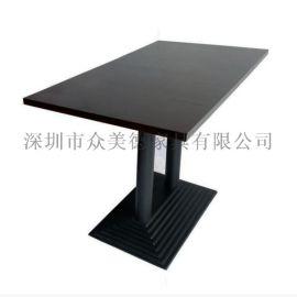 酒店餐厅家具图片|什么样的餐桌好|众美德餐桌椅定制