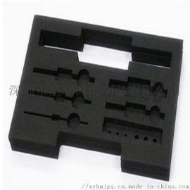环保植绒EVA内衬 礼盒防静电雕刻成型聚酯泡棉