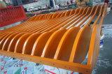 25x75规格仿木纹铝方管 凹槽吊顶木纹铝方管