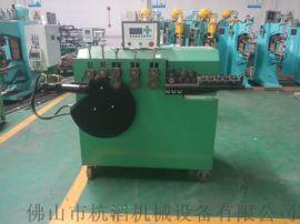 不锈钢圆凳打圈机 液压式打圈机 仓储笼打圈机