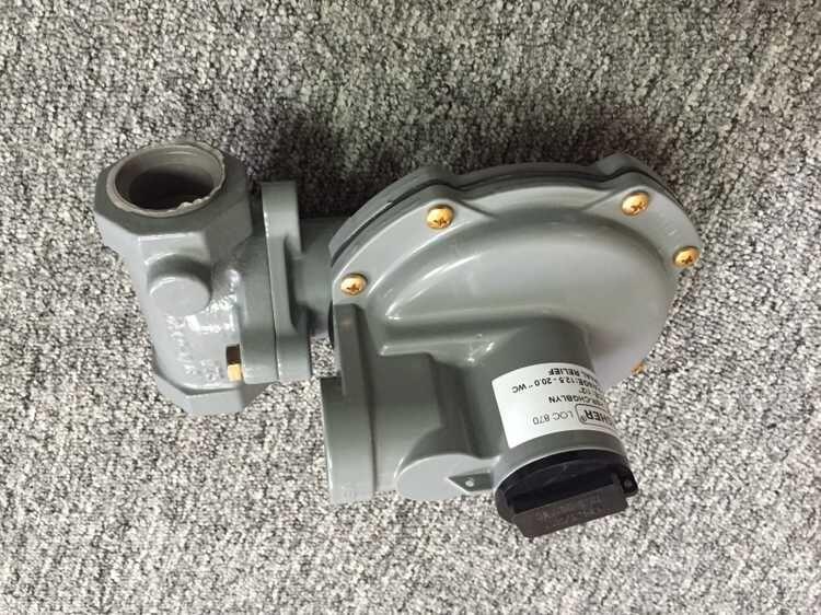 美国费希尔fisher煤气减压阀HSR二级调压器