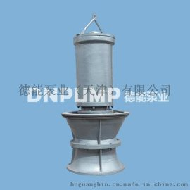 无阻塞泵站大型轴流泵