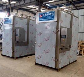 铭杰MYX-1000全自动大型商用烤肉烟熏炉 烤肉机 熏肉机