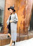 上海貂絨大衣品牌女裝庫存折扣批發貨源拿貨批髮網