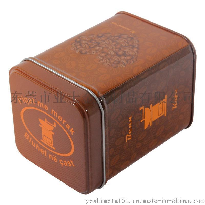 业士定制咖啡豆铁盒, 精美食品铁盒