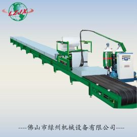 聚氨酯彩钢瓦生产线 PU夹芯板生产设备 发泡机