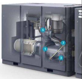 深圳阿特拉斯GHS 730 VSD+真空泵,变频螺杆 瑞典进口