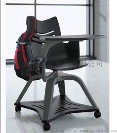 kimball学生椅,带写字板培训椅