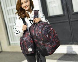 上海定制供应双肩休闲子母背包 旅游包 休闲包 情女包可加logo