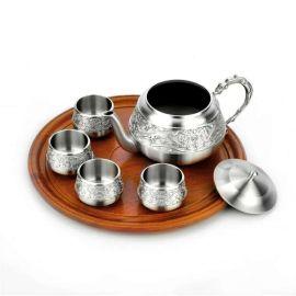 泰国锡器 祥龙茶具品 商务 往来 家居 收藏 实用 赠礼