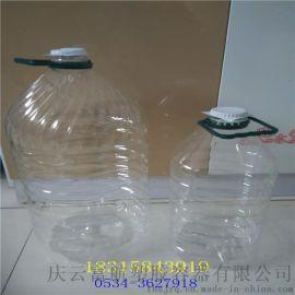 德州10升色拉油透明油桶 10L透明塑料桶