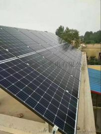 光伏太陽能組件廠家生產雙玻雙面單晶太陽能板