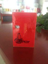 供荷叶茶铁盒 荷叶茶礼盒 马口铁茶叶包装盒专业定制