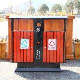 廠家定製塑木垃圾箱