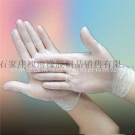一次性pvc手套透明薄款橡胶家用乳胶美容美发牙医防静电防水100只