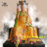 道教神像送子奶奶佛像、豫莲花佛像厂 送子娘娘神像、