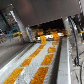 湖南红苕刮片油炸机 S5连续自动红薯刮片油炸生产线