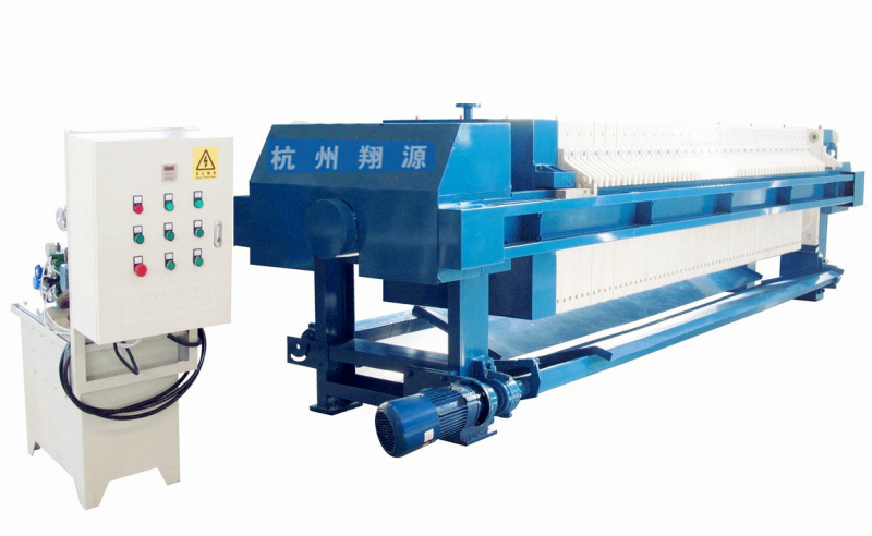 隔膜压滤机 专业环保污水处理设备 翔源全自动压滤机