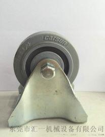 3寸中型 定向 TPR软胶脚轮