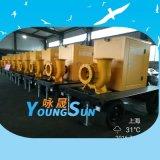 12寸 800立方 移动泵车 柴油机水泵 防汛应急拖挂式水泵