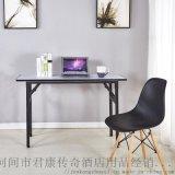 折叠会议桌PVC防水长桌培训开会桌