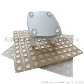 生产直销透明EPDM防滑胶垫EPDM橡胶防滑贴厂家