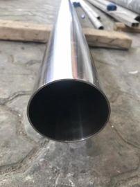 佛山食品机械用不锈钢管,TP304内外抛光卫生级管