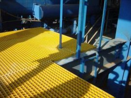 電鍍廠玻璃鋼排水溝格柵  無害