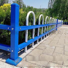锌钢草坪护栏绿化围栏栅栏热镀锌护栏花园坛绿化市政