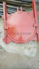 铸铁圆闸门镶铜闸门 600型 水利闸门