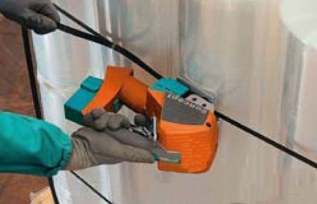罗定pet打包机热熔式高州气动塑钢带捆扎机
