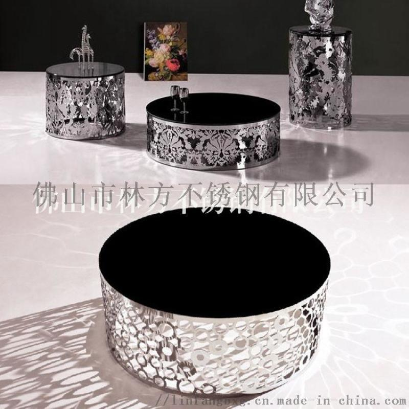 重慶 異型不鏽鋼茶几 裝飾不鏽鋼茶幾腳定製加工