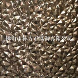 定做不锈钢彩色压花板 304不锈钢细沙纹板加工