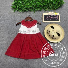 优鼬小米公主连衣裙夏季19新款贝熙品牌折扣