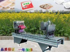 盒装鸭血灌装封口机 米豆腐凉粉灌装封盒机