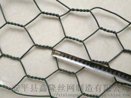 防泥石流镀锌铁丝石笼网|覆塑高尔凡石笼网箱