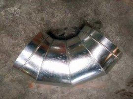 【江大】专业生产通风排气管道螺旋风管配件各种规格度数弯头
